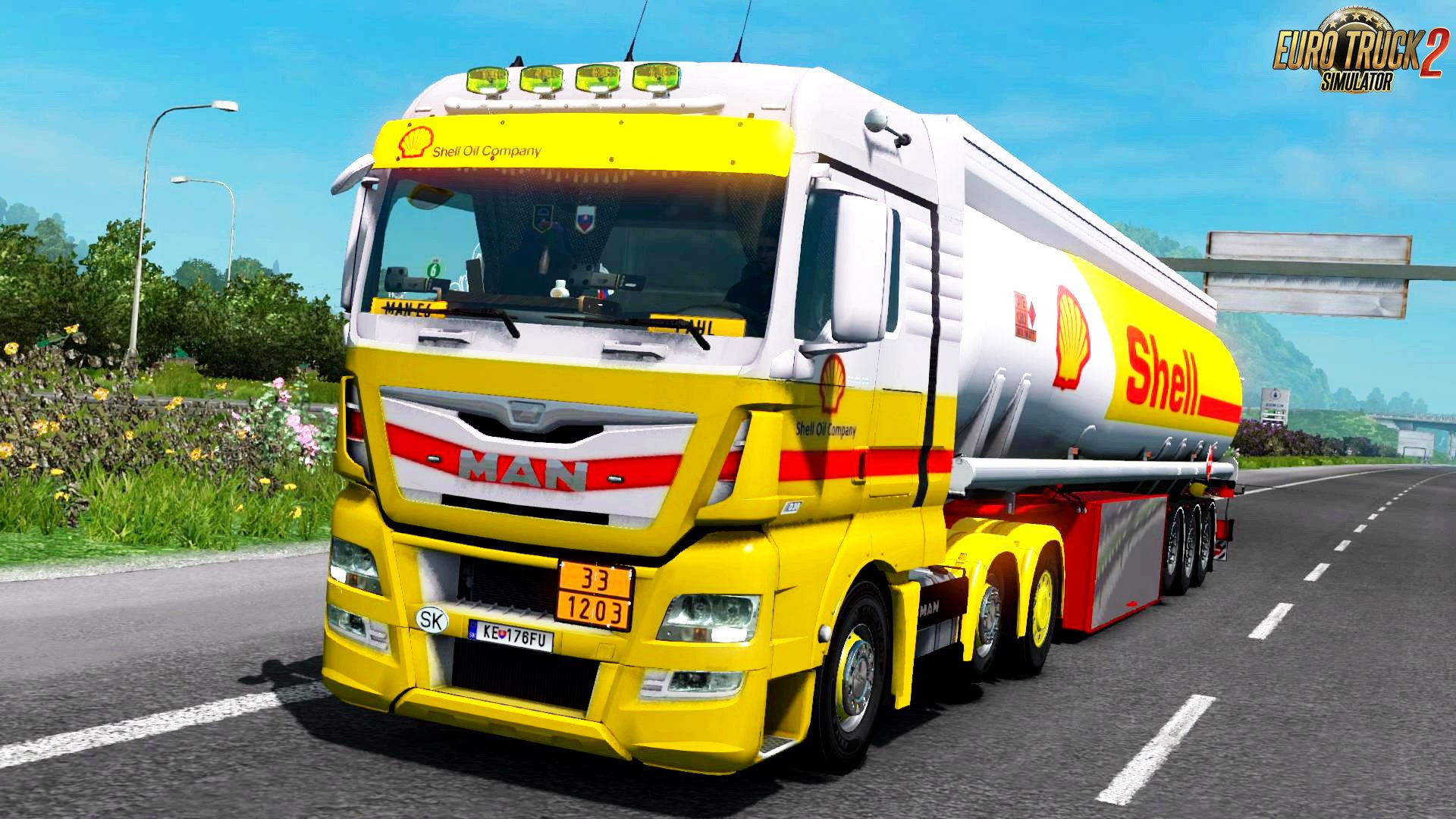 Shell Combo Pack Skin for Man Euro 6 by MADster v1.0 (1.28.x)