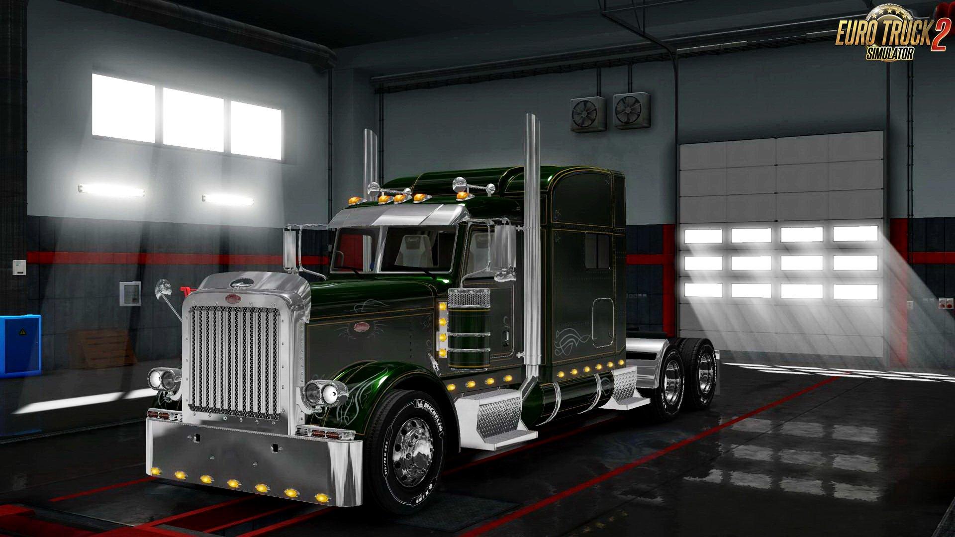 Peterbilt 389 579 Interior V1 0 Download Ets 2 Mods Truck Mods Euro Truck