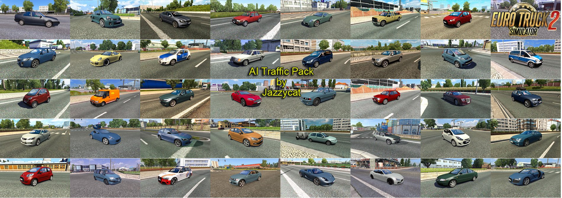 AI Traffic Pack v5.6 by Jazzycat