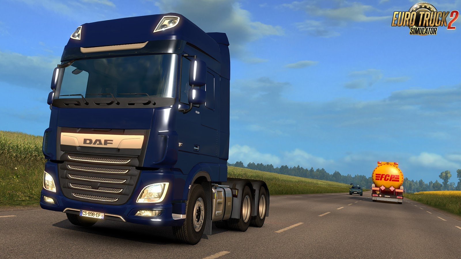 ETS 2 Update 1.28 was released
