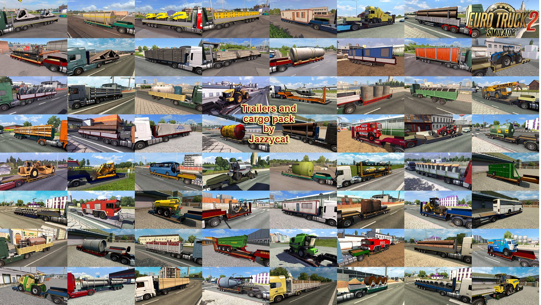 Trailers and Cargo Pack v5.3.1 by Jazzycat