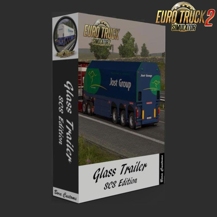 SCS Glass Trailer Reworked v1.28 (Update)