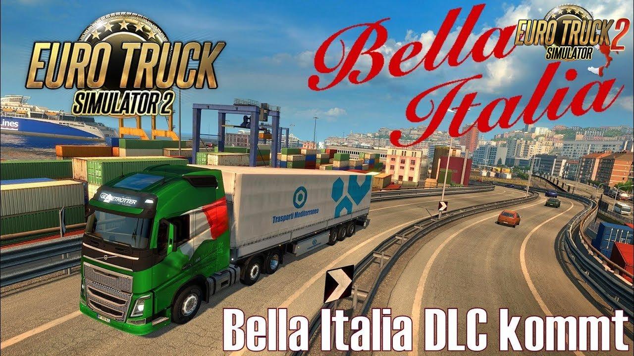 bella italia dlc euro truck simulator 2 ets2 mods scs. Black Bedroom Furniture Sets. Home Design Ideas