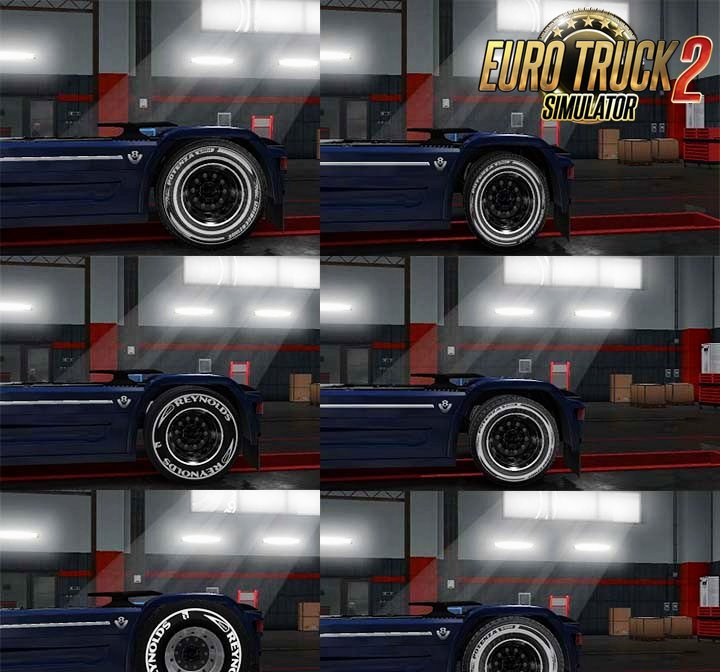 Tire Pack for all Trucks v1.0 by griva74 (1.28.x)