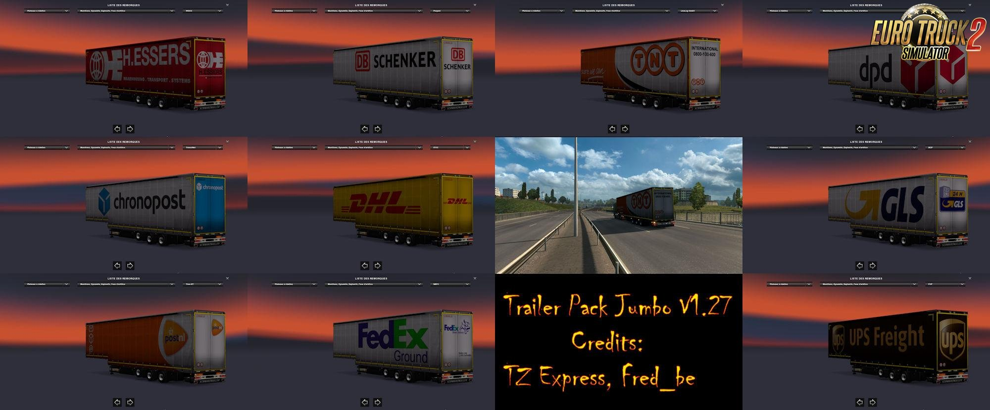 Trailer Pack Jumbo v1.28 (Replace)