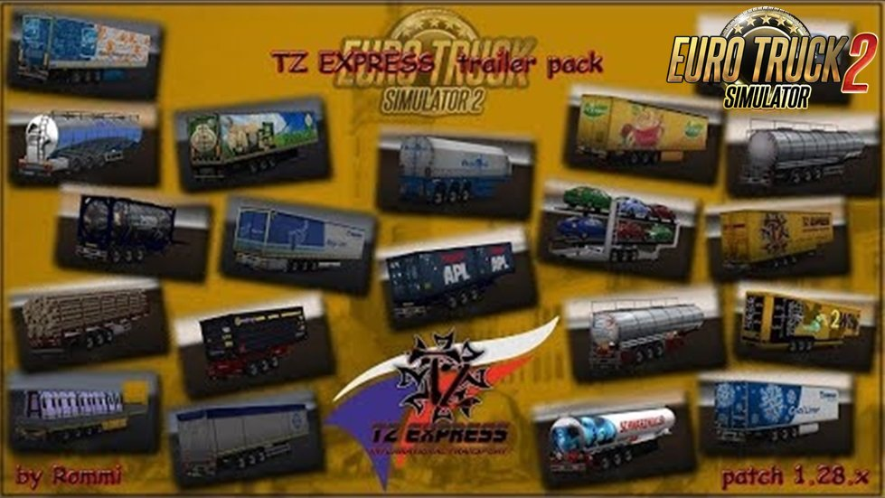 TZ Trailers Pack- BETA [1.28.x]