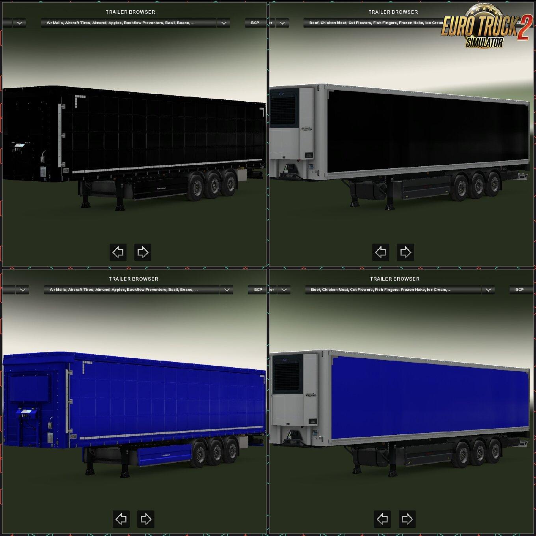 New trailer pack Schwarzmuller(Color)