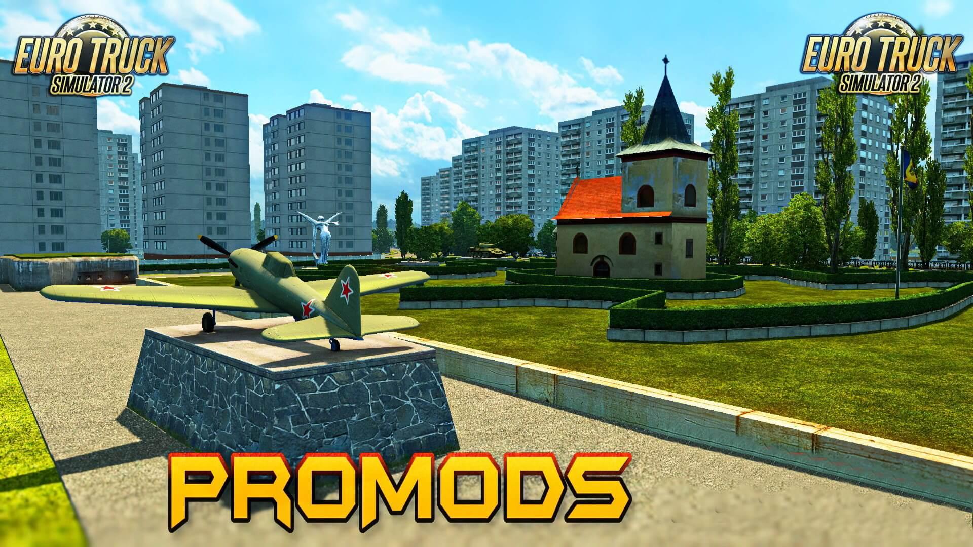 ProMods Map v2.18 (1.28.x)