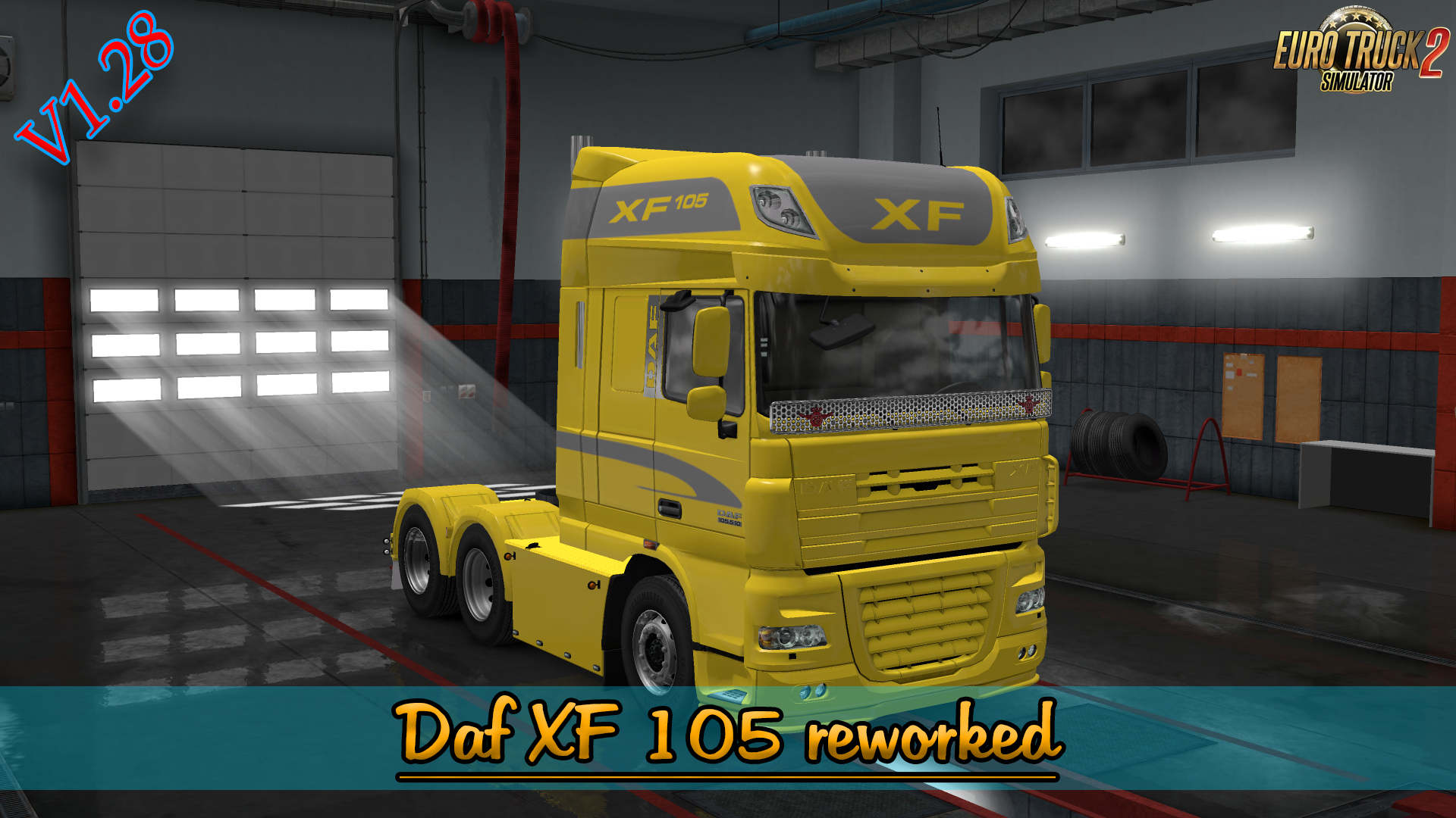 Daf XF 105 Reworked Final [1.28.x]