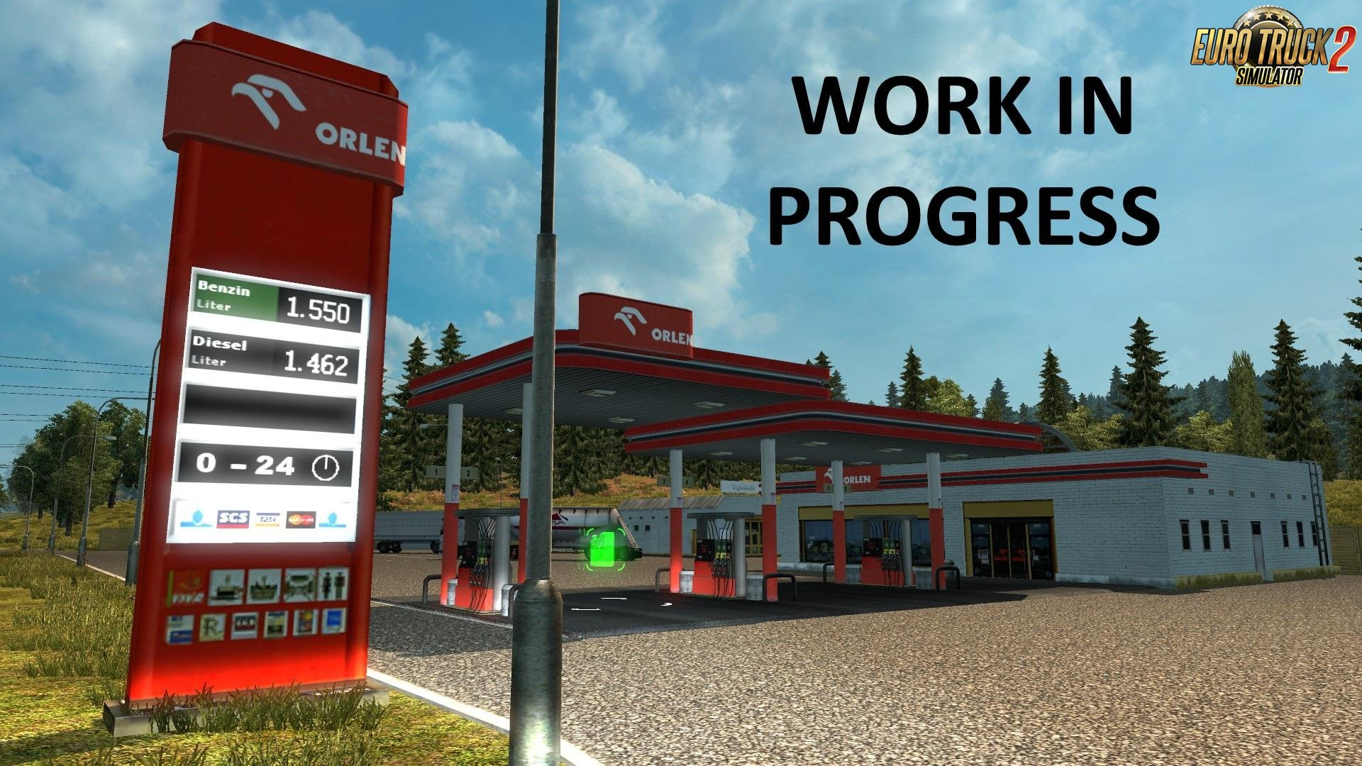 Real European Gas Stations (Reloaded)