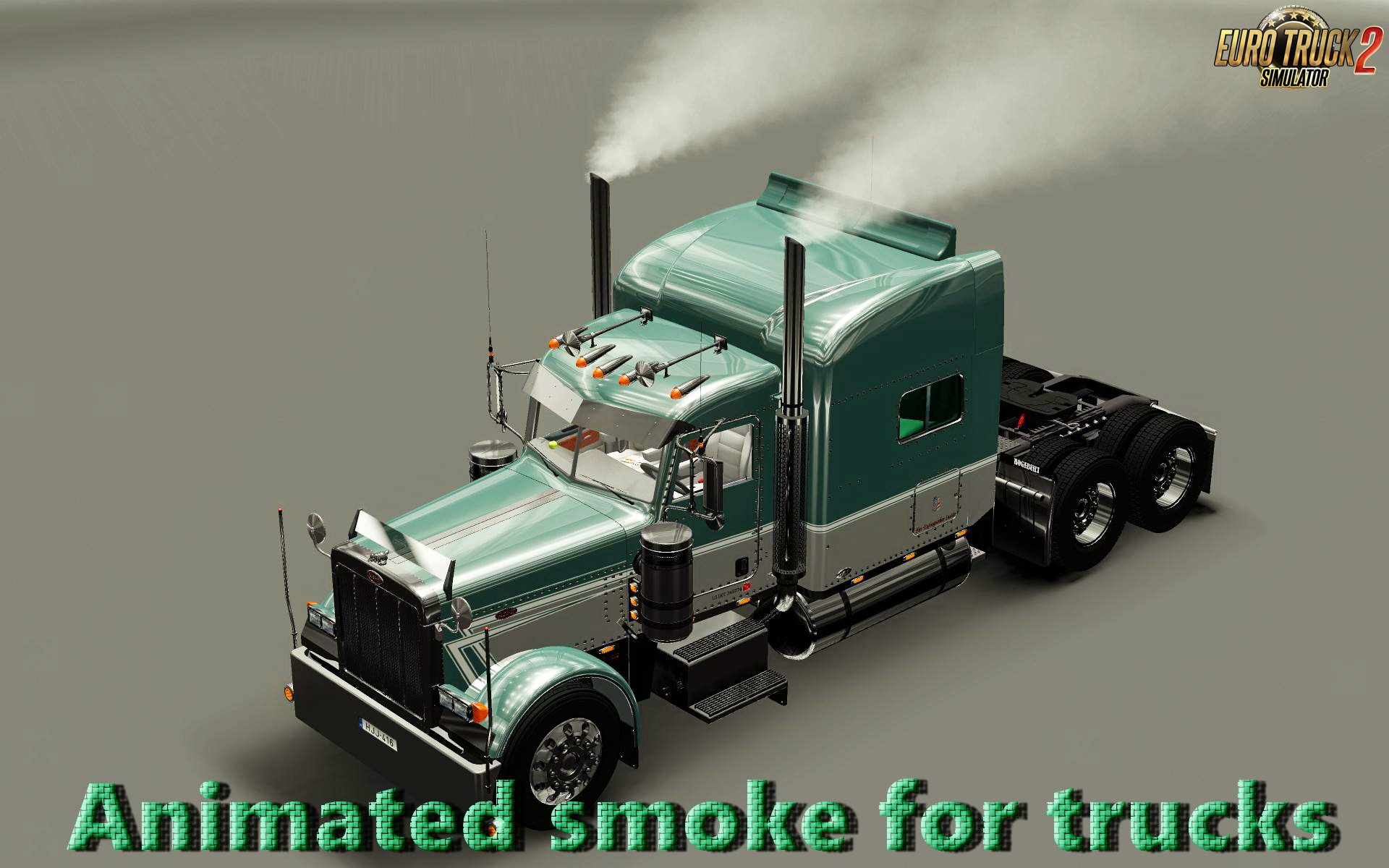 Animated smoke for trucks v1.0 (1.28.x)