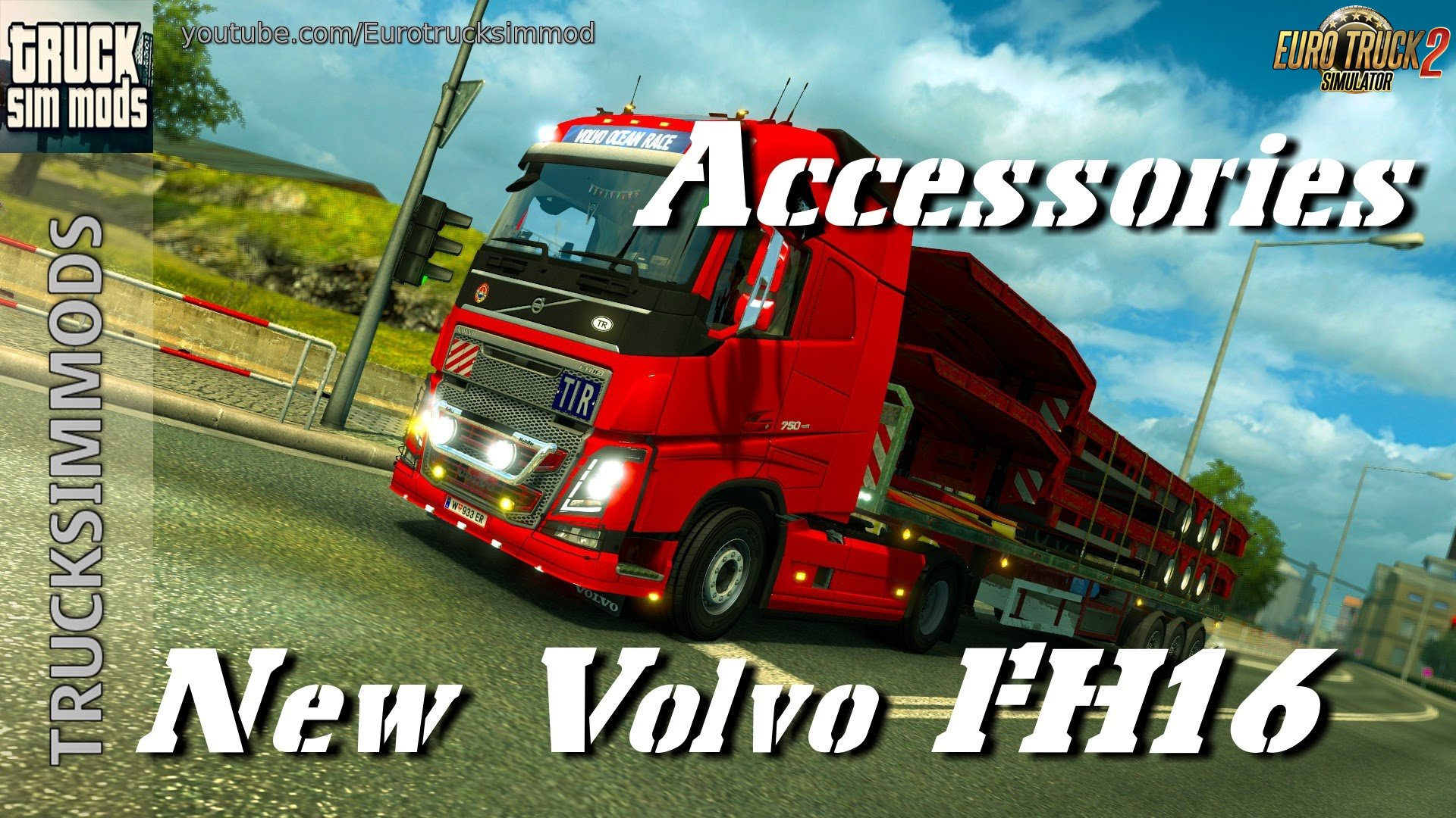 New Volvo FH16 Accessories + Interior v3.3 (1.28.x)