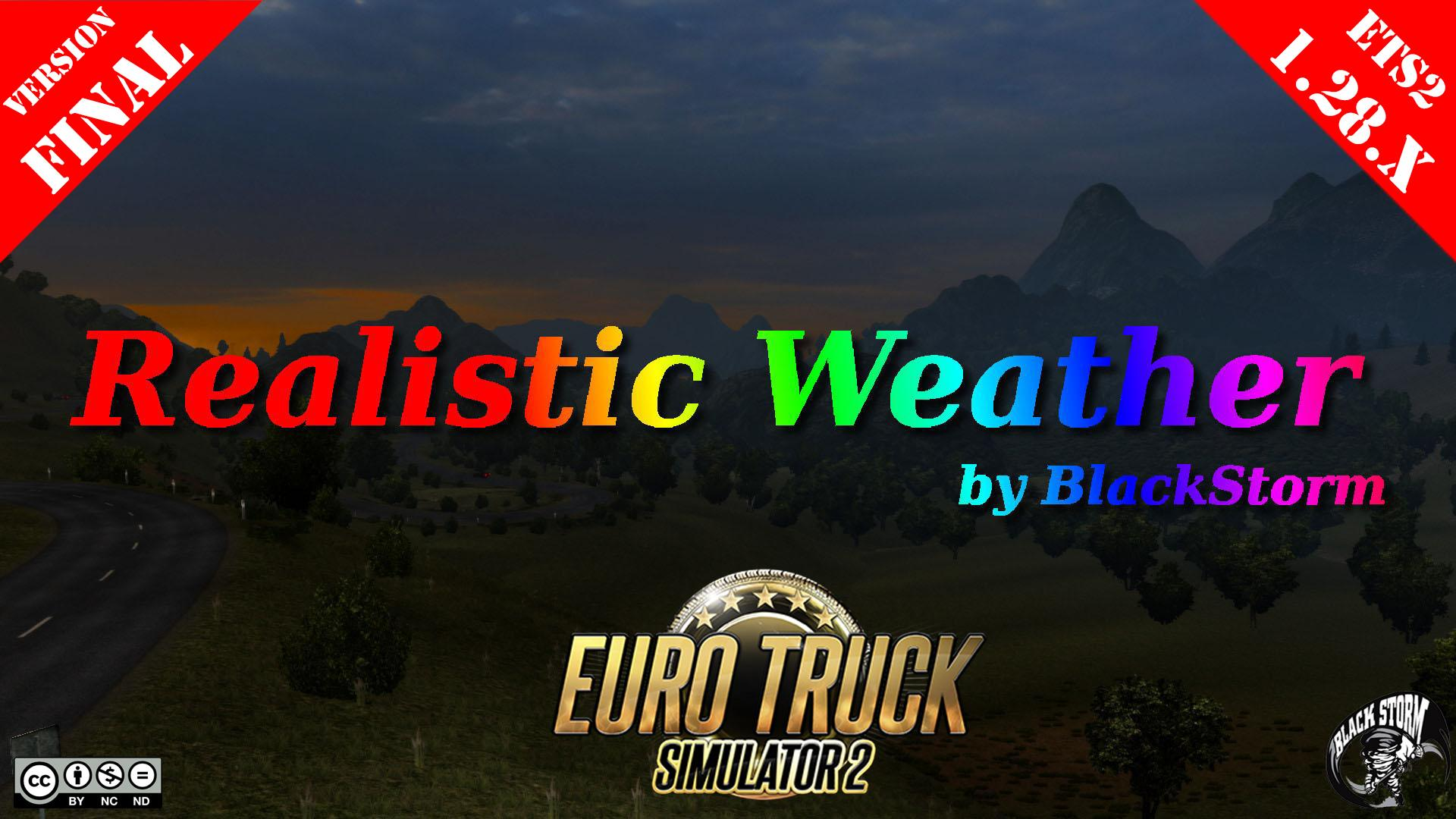 Realistic Weather v2.0 by BlackStorm (Final Version) (1.28.x)