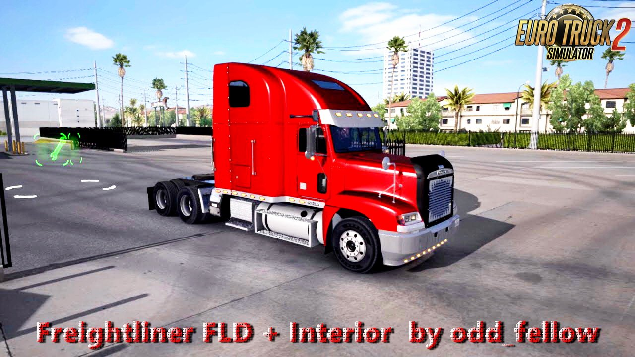 Freightliner FLD + Interior v1.5 by odd_fellow (1.28.x)