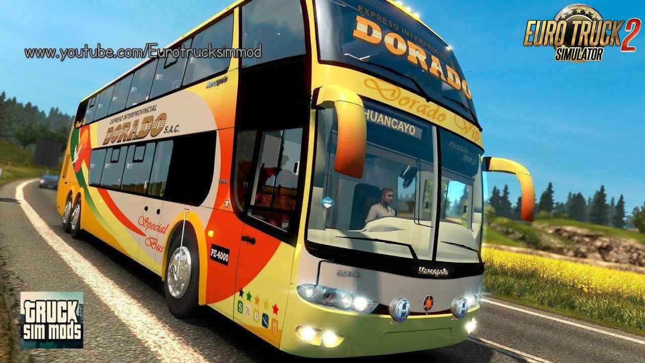 Marcopolo Paradiso G6 1800 DD 6×2*4 - Euro Truck Simulator 2