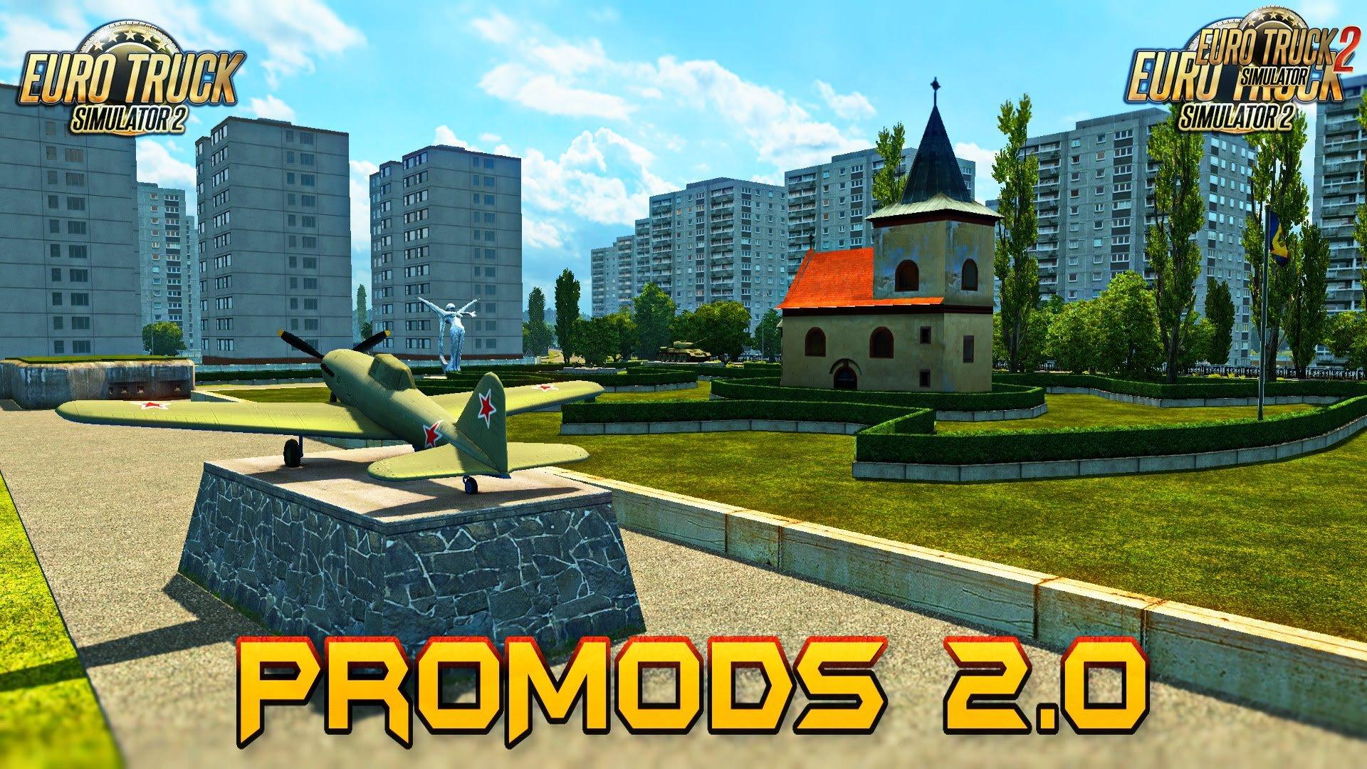 ProMods Map v2.20 [1.28.x]