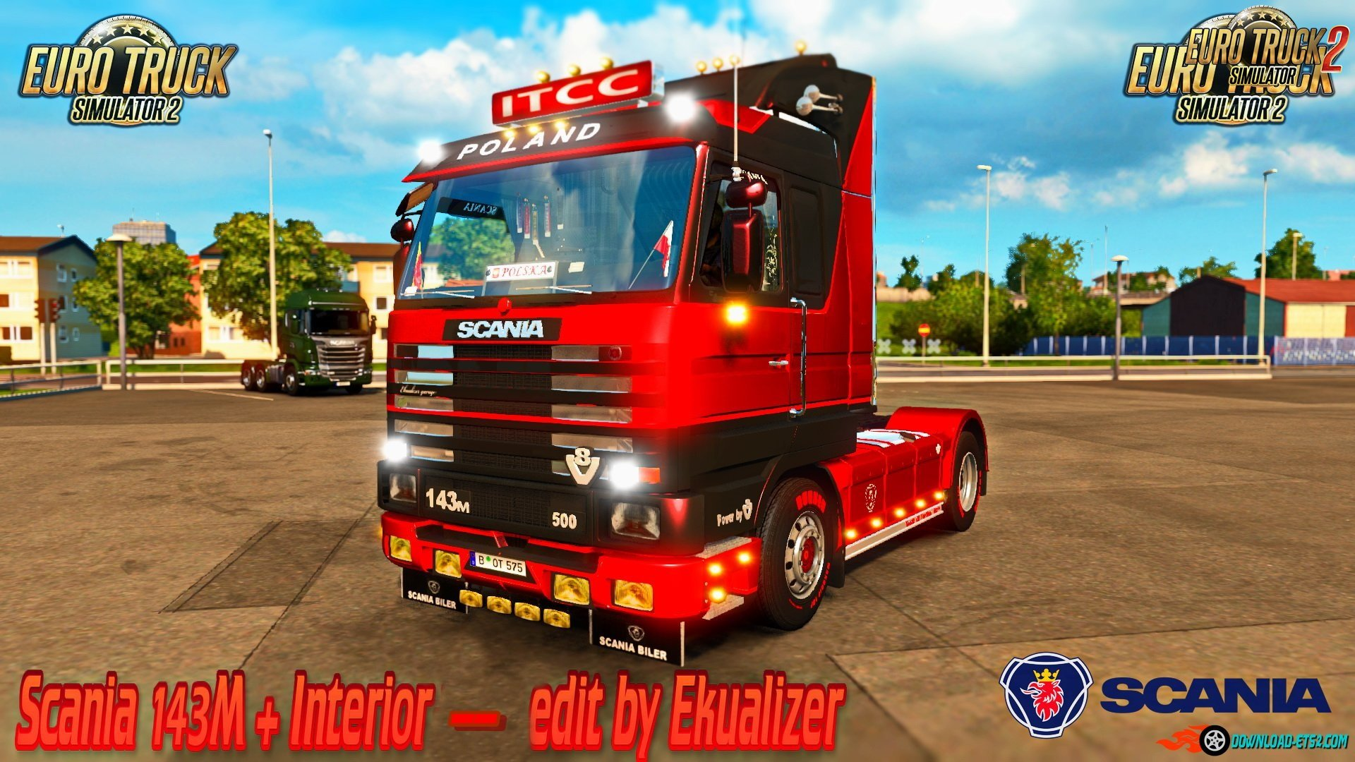 Scania 143M + Interior edit by Ekualizer [1.35.x]