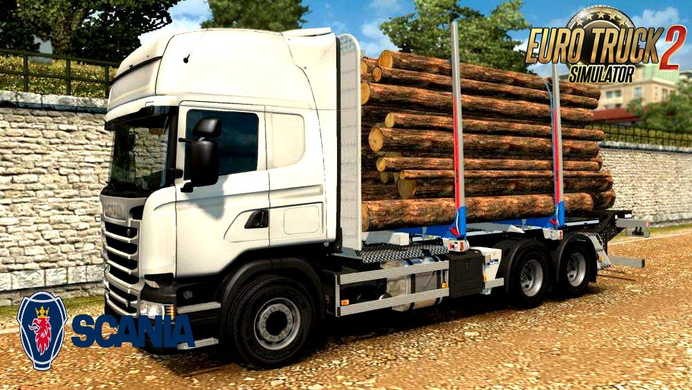 Scania Timber Transporter Addon v1.0 (1.28.x)