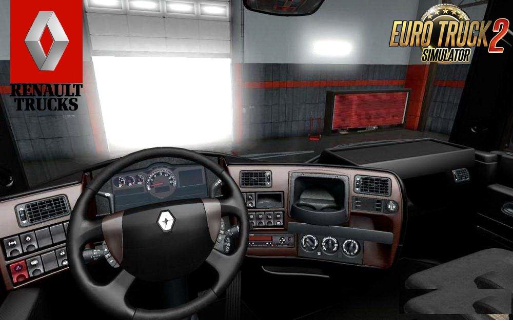 Renault Magnum Tandem + Interior v1.0 (1.28.x)