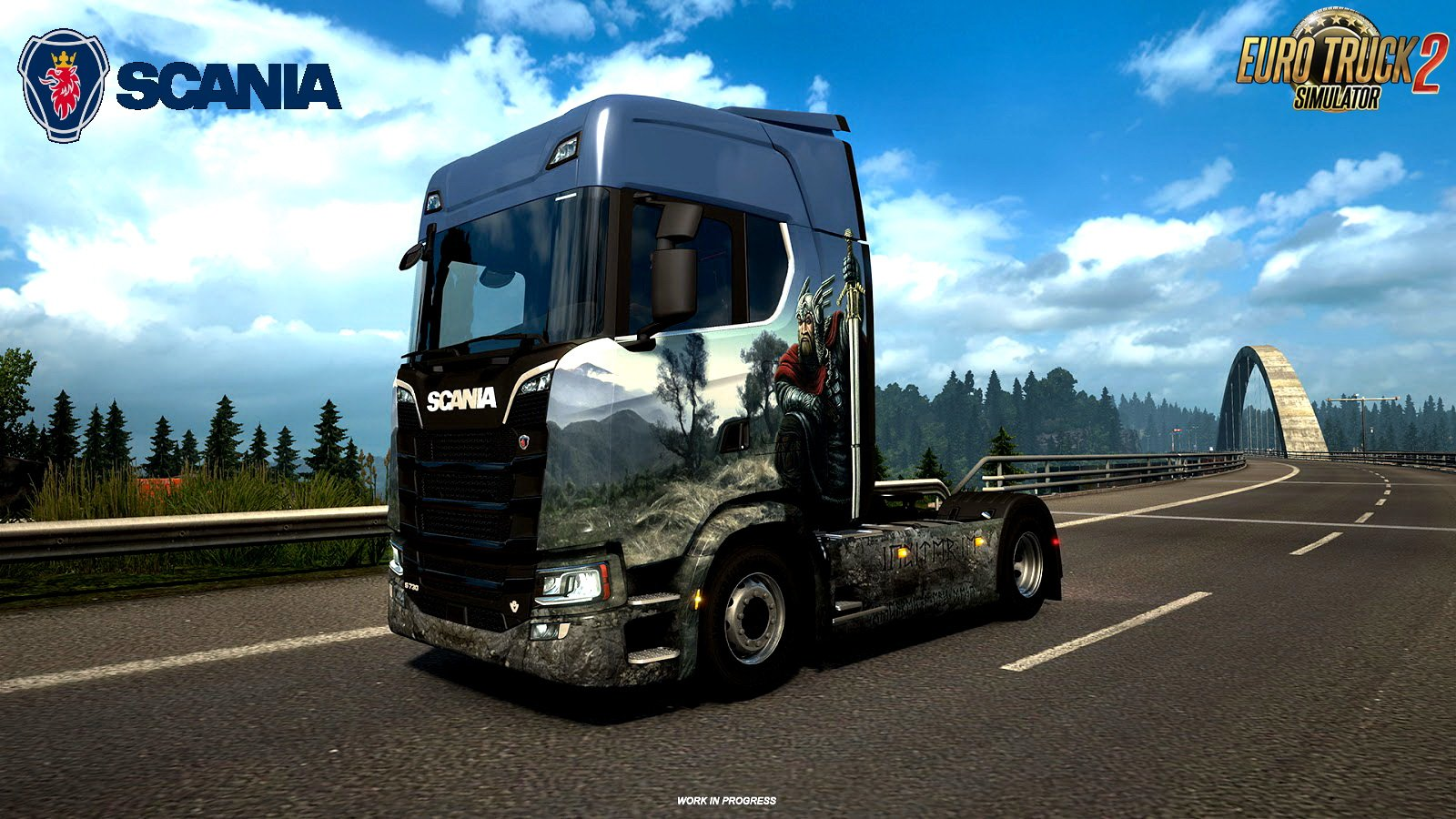 new scania s and r approaching the finish line ets2. Black Bedroom Furniture Sets. Home Design Ideas