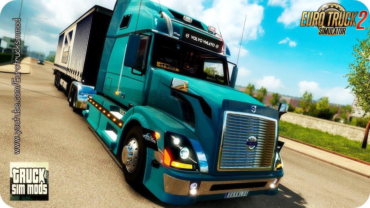 Volvo VNL670 v1.5.3 by Aradeth (1.28.x) - Euro Truck Simulator 2 » ETS2 mods, SCS mods, Euro ...