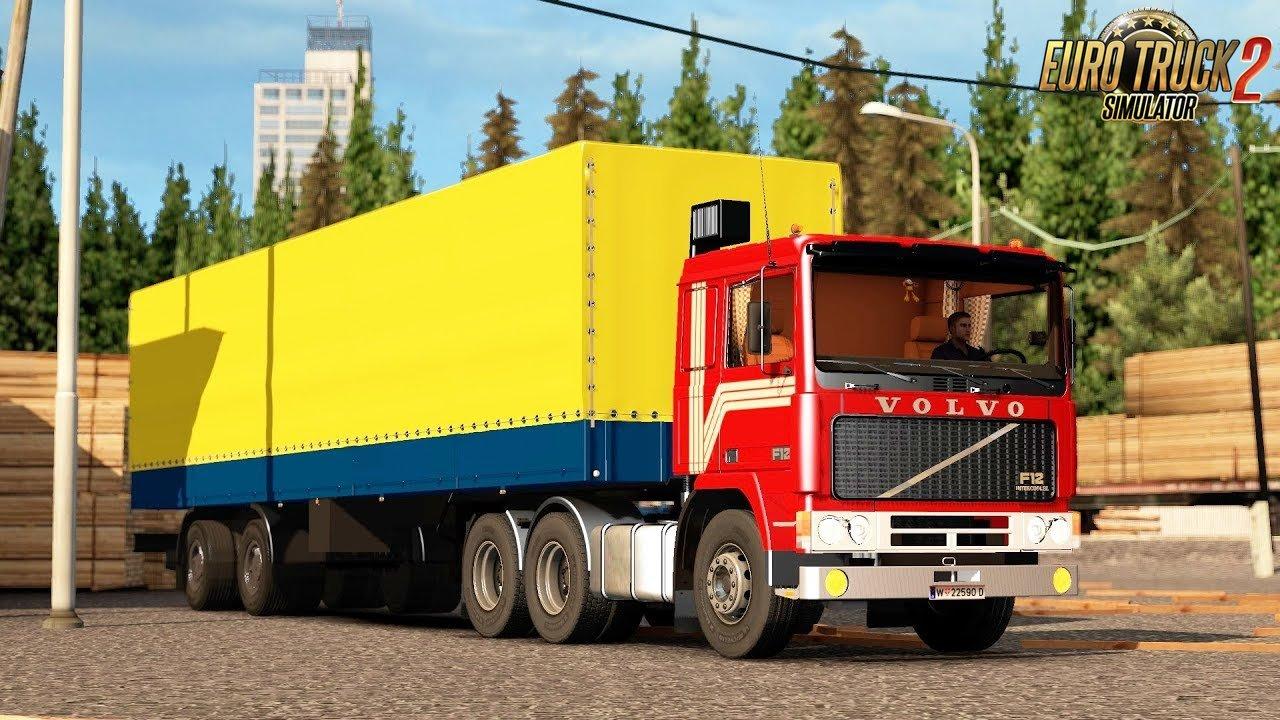 Volvo F12 v1.0: Katowice - Wien (ProMods 2.20) - Euro Truck Simulator 2