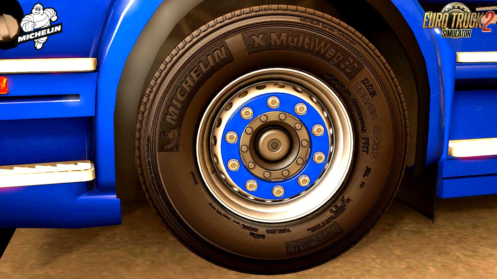Tires Michelin X Multiway 3D v1.0 (1.28.x)