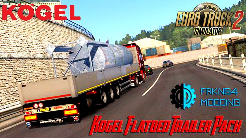 Kogel Flatbed Trailer Pack v1.0 (1.28.x)