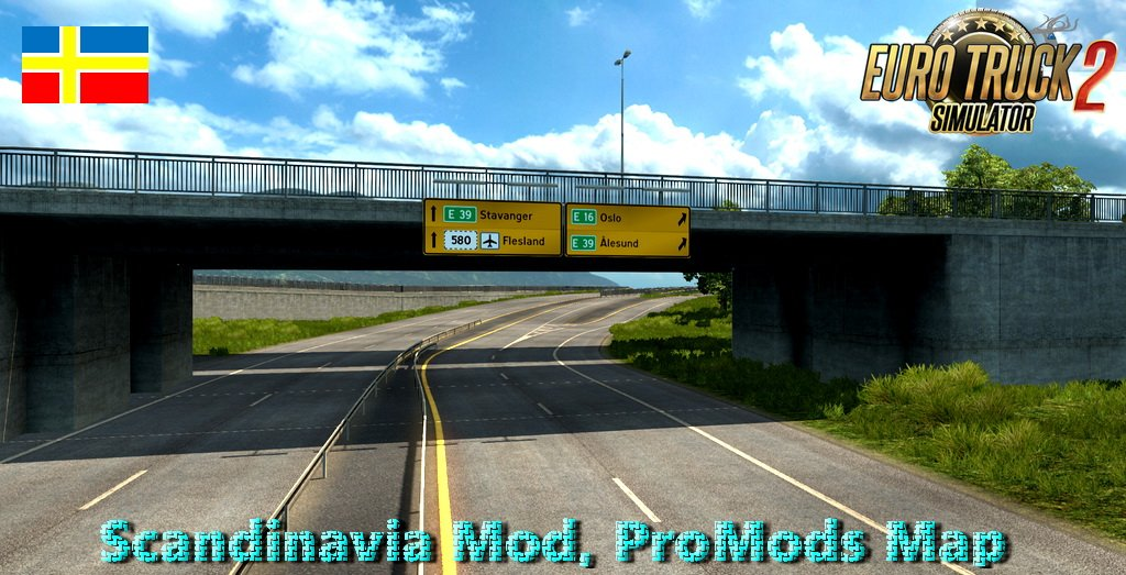 Fix for Scandinavia Mod, ProMods Map add-on v0.4 [1.31.x]