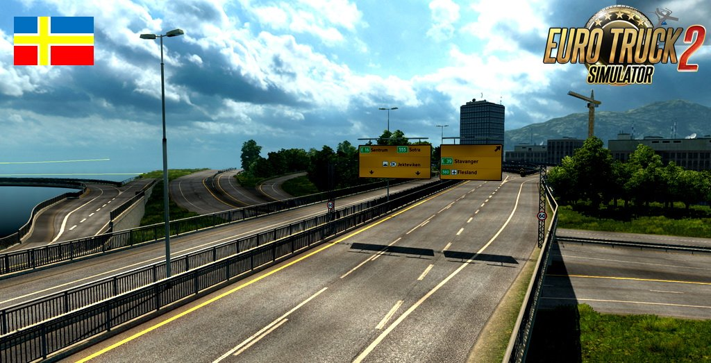Scandinavia Mod, ProMods Map add-on v0.3 [1.30.x]