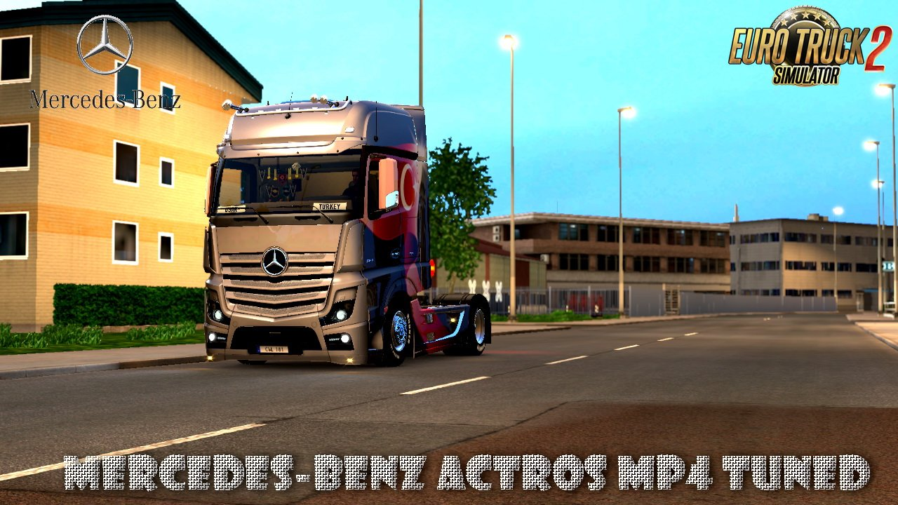 Mercedes-Benz Actros MP4 Tuned v1.0 (1.28.x)