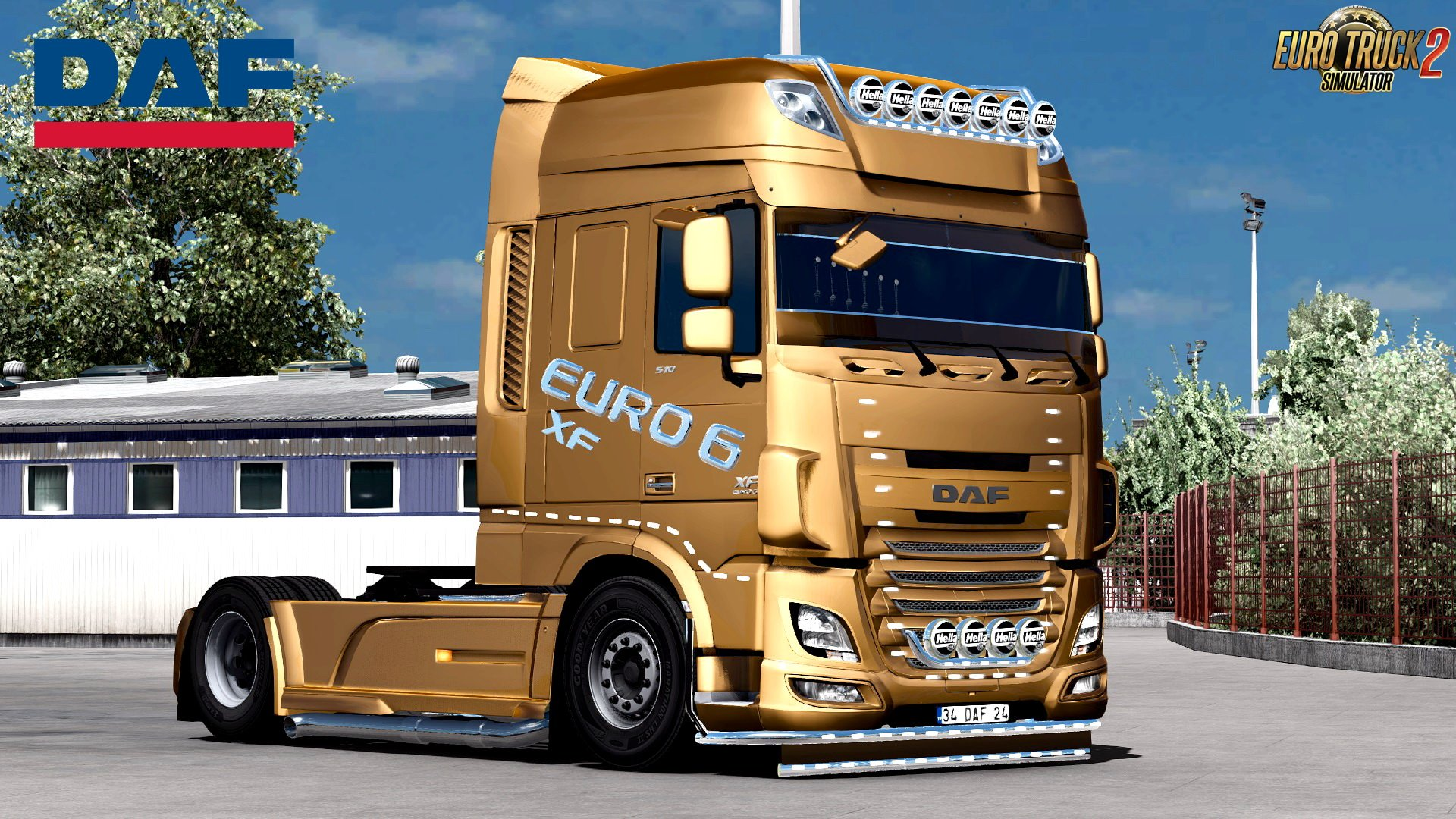 DAF XF Euro 6 Edit by BurakTuna24 v1.0 (1.28.x)