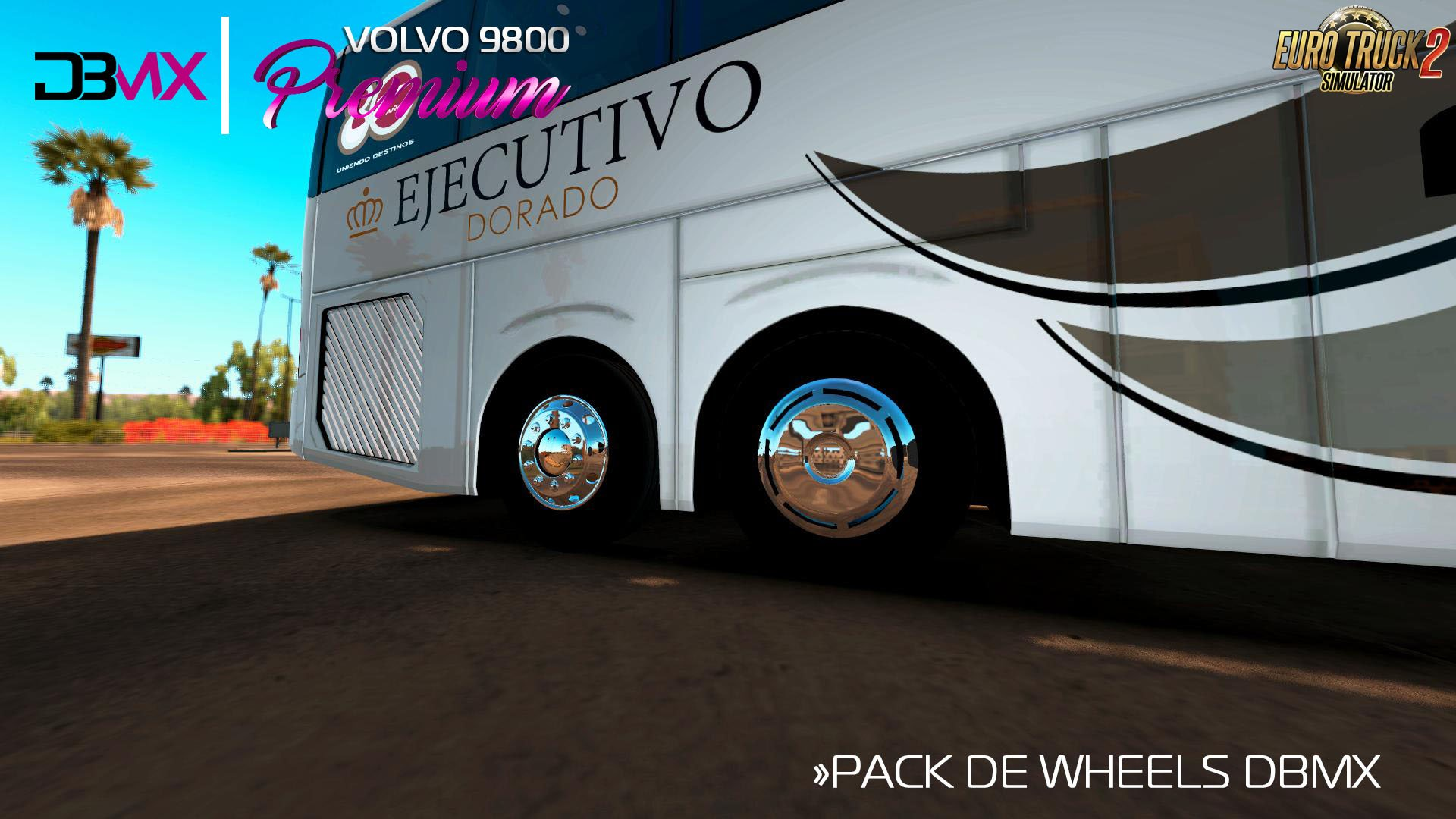 Bus Volvo 9800 + Interior v2.1 (1.36.x)