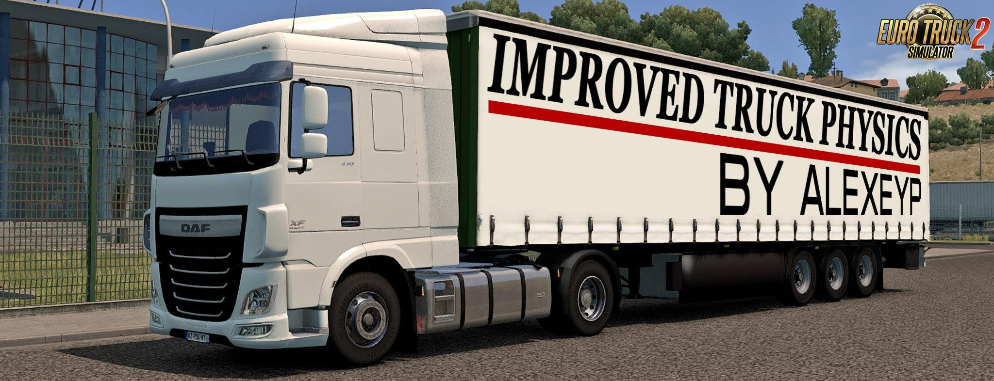 Improved truck physics v.2.4 by AlexeyP