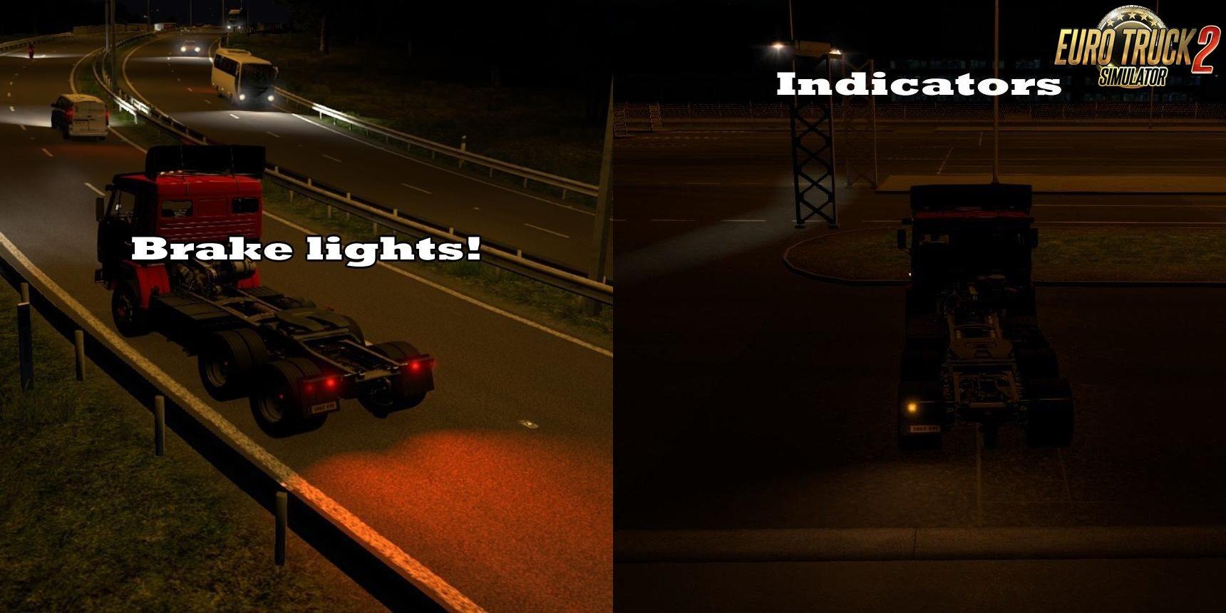 Real World Vehicle Lights v1.0 [1.28.x]