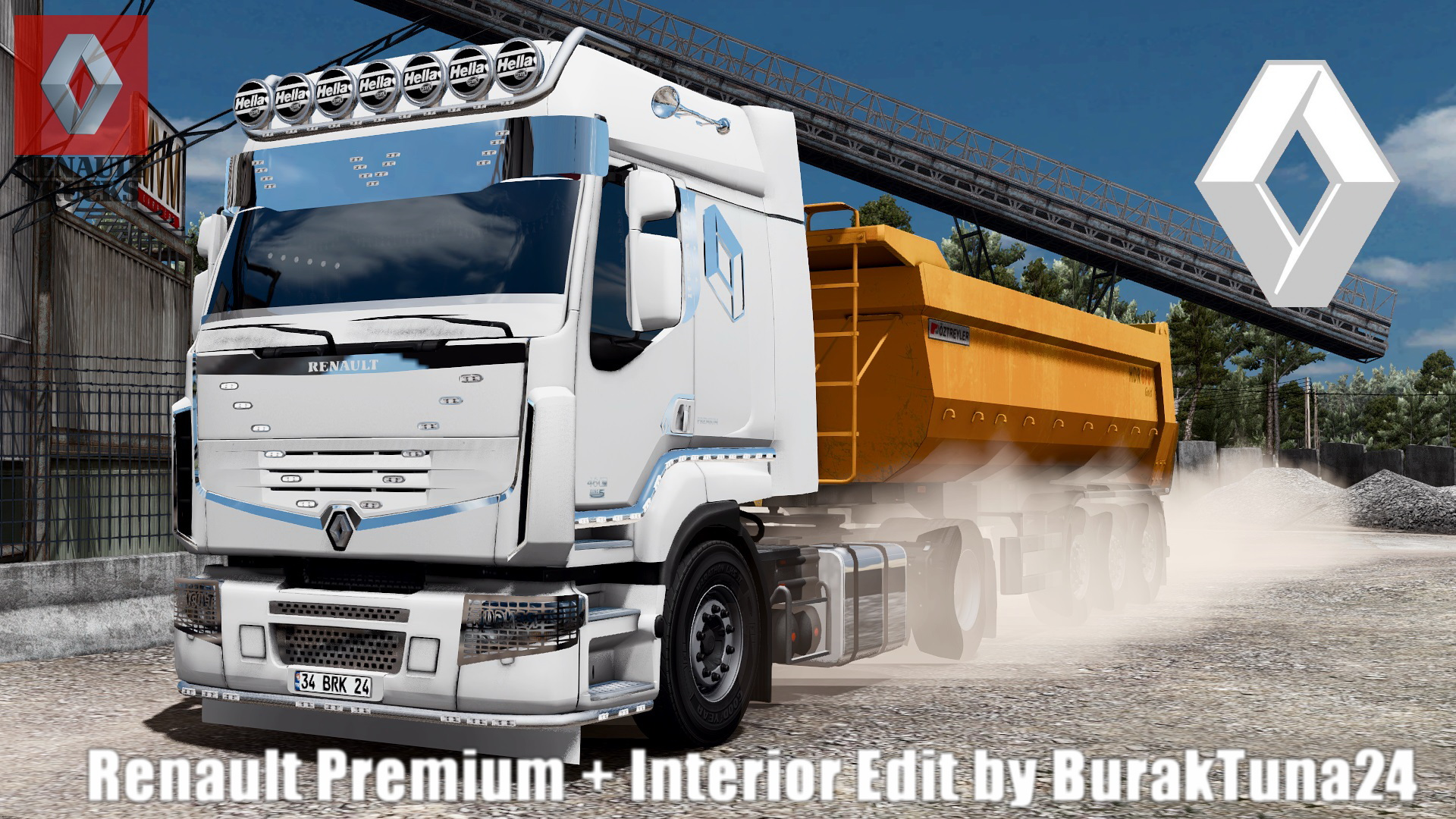 Renault Premium + Interior v1.0 Edit by BurakTuna24 (1.28.x)