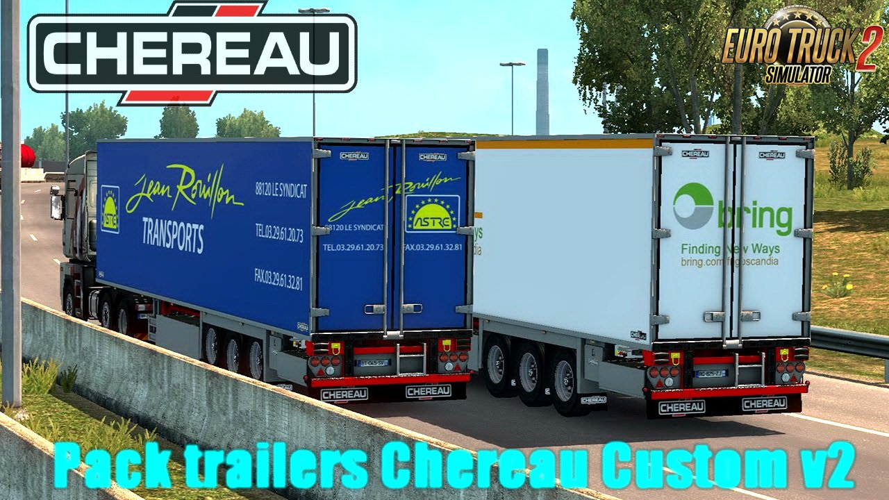Pack trailers Chereau Custom v2 (1.28.x)