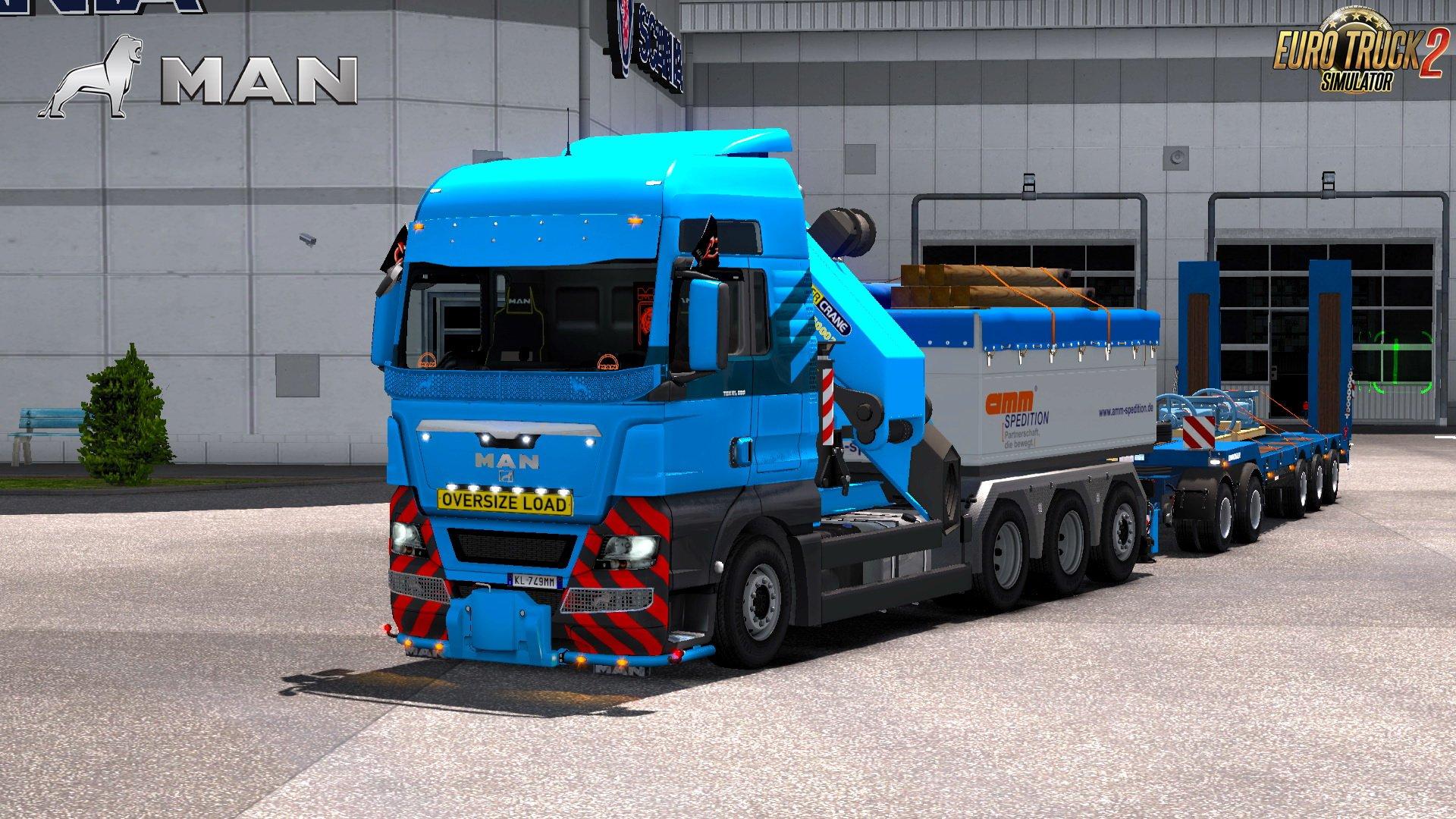 2017 Peterbilt 579 >> MAN TGX 2010 v4.8 by XBS (1.28.x-1.30) » ETS2 mods, SCS mods, Euro Truck Simulator 2 mods ...