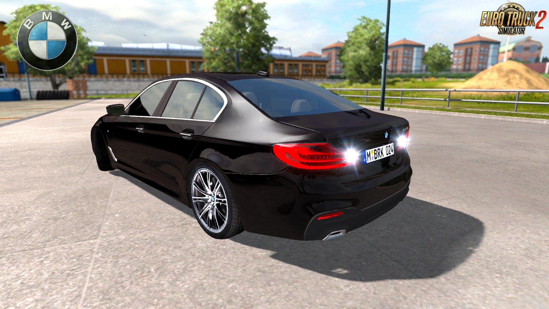 BMW 540i M Sport G30 + Interior v1 0 by BurakTuna24 (1 28 x) » ETS2