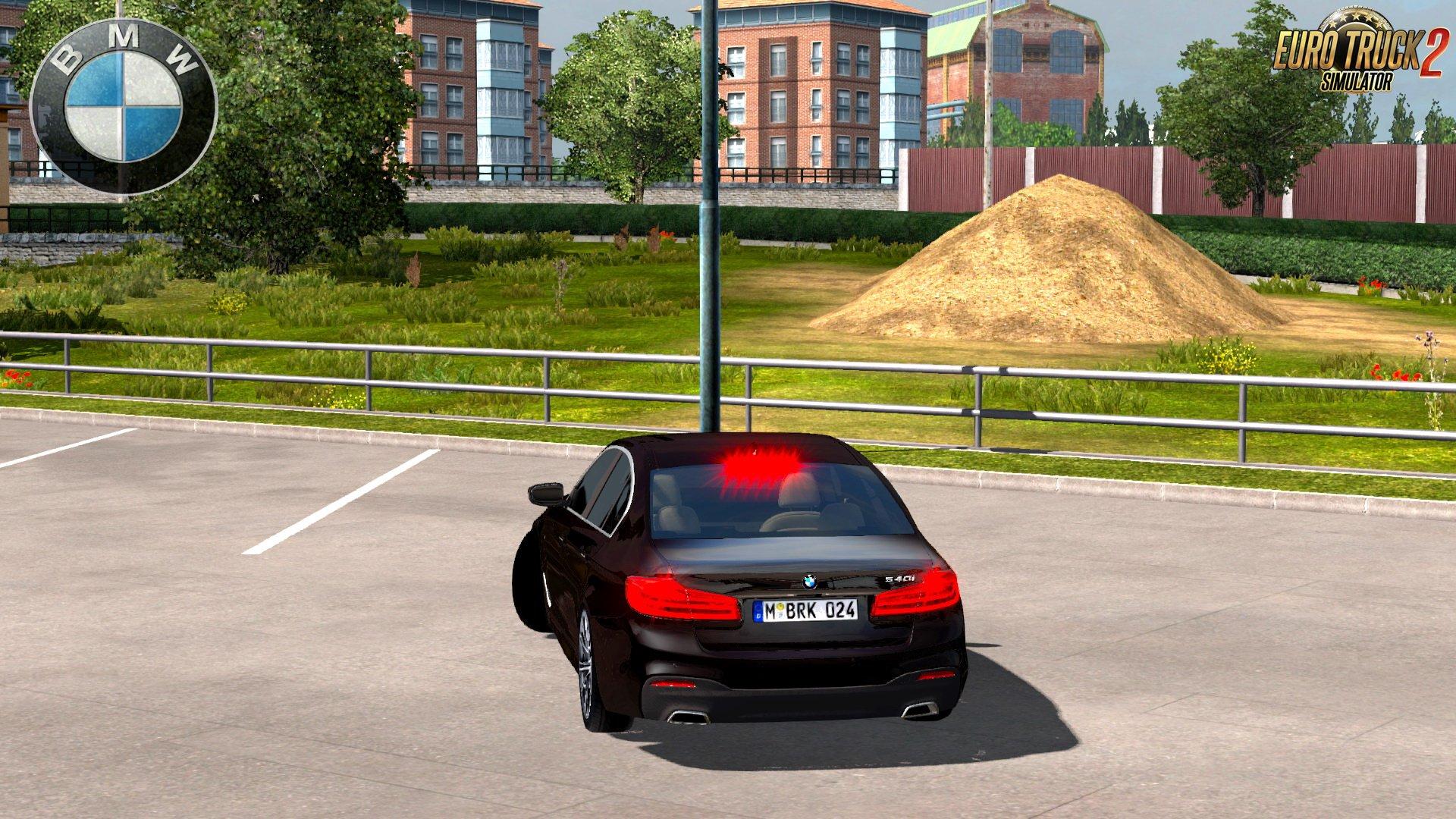 BMW 540i M Sport G30 + Interior v1.0 by BurakTuna24 (1.28.x)