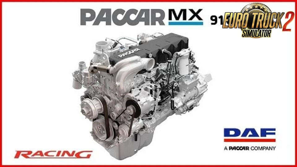 "PACCAR MX-13 910 HP ""racing""v1.0 for Daf XF"