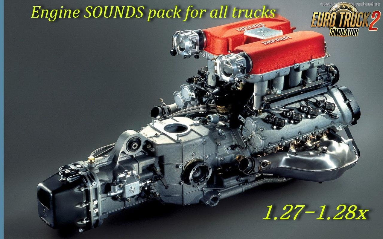 Engine SOUNDS pack for all trucks v1.0 in Ets2