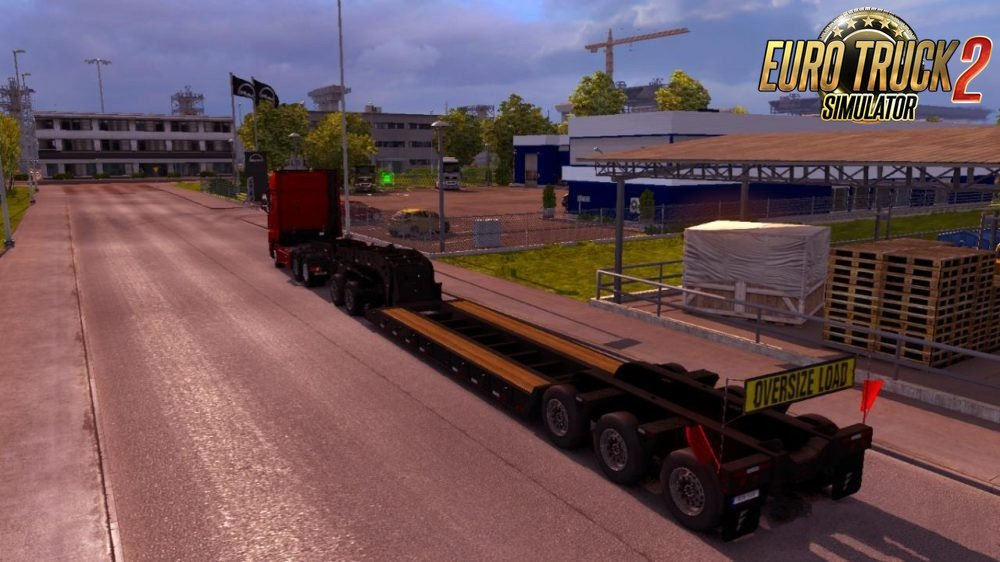 ATS Heavy Cargo-(Empty) in Ets2