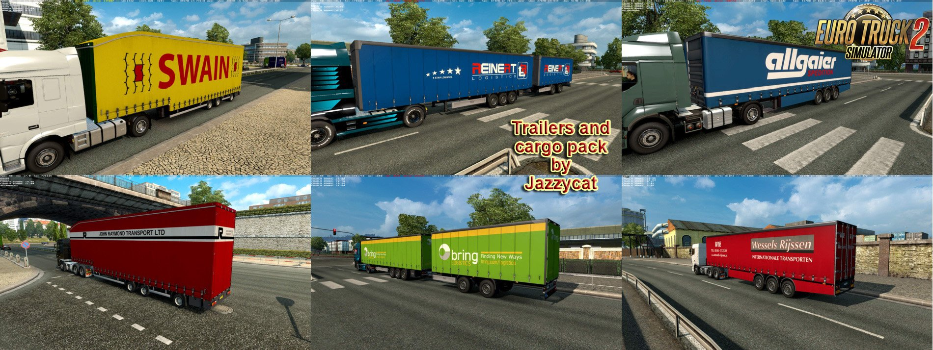 Trailers and Cargo Pack v5.7 by Jazzycat