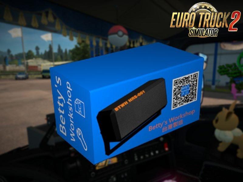 Radio Speaker for all Trucks in Ets2