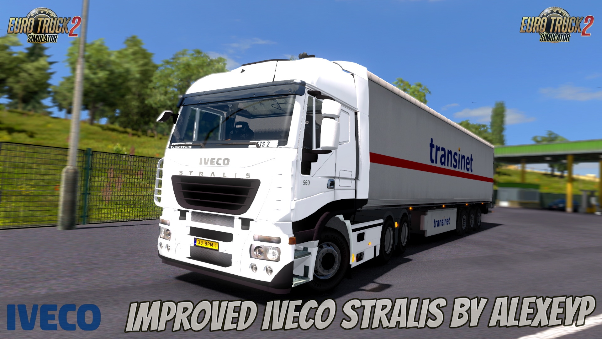 Improved Iveco Stralis by AlexeyP (1.28.x) - Euro Truck Simulator 2