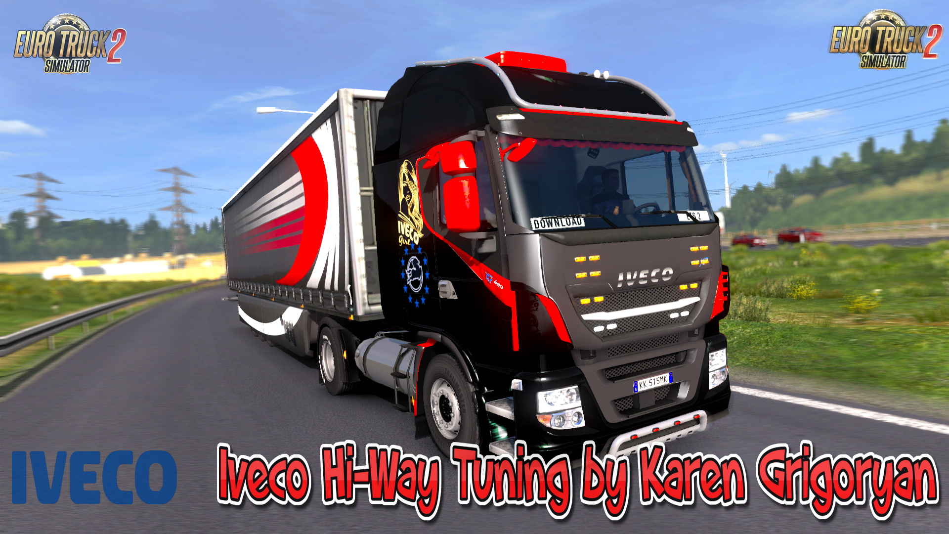 Iveco Hi-Way Tuning v1.5 by Karen Grigoryan (1.28.x)