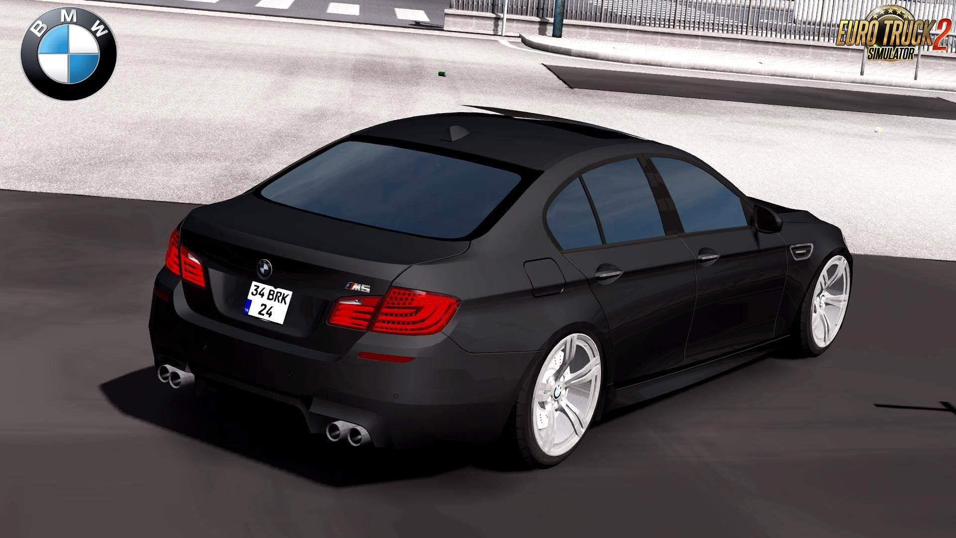 BMW M5 F10 + Interior v3.0 (Upgraded) (1.28.x)