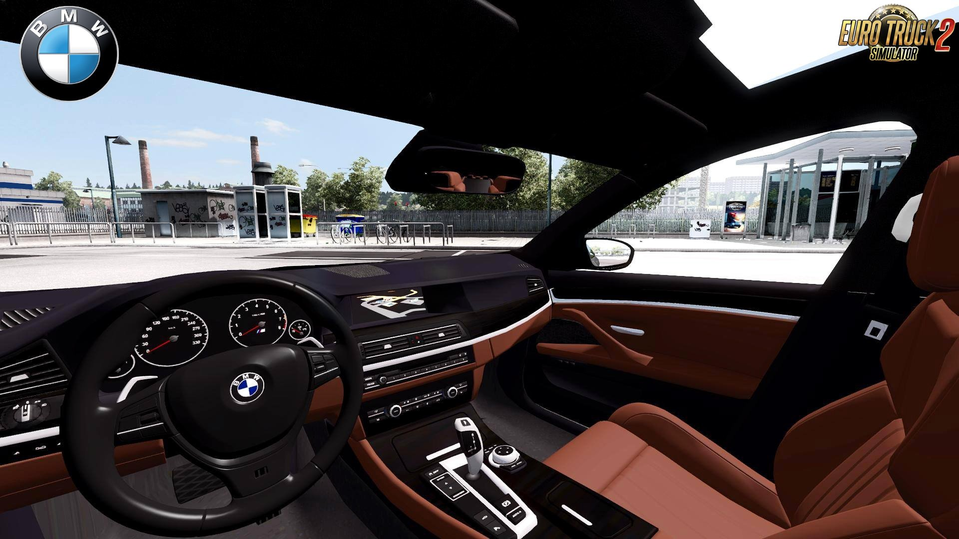 Is A BMW A Foreign Car >> BMW M5 F10 + Interior v3.0 (Upgraded) (1.28.x) » ETS2 mods ...