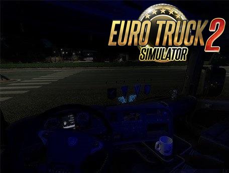 Interior Light for all Trucks v 8.0 in Ets2